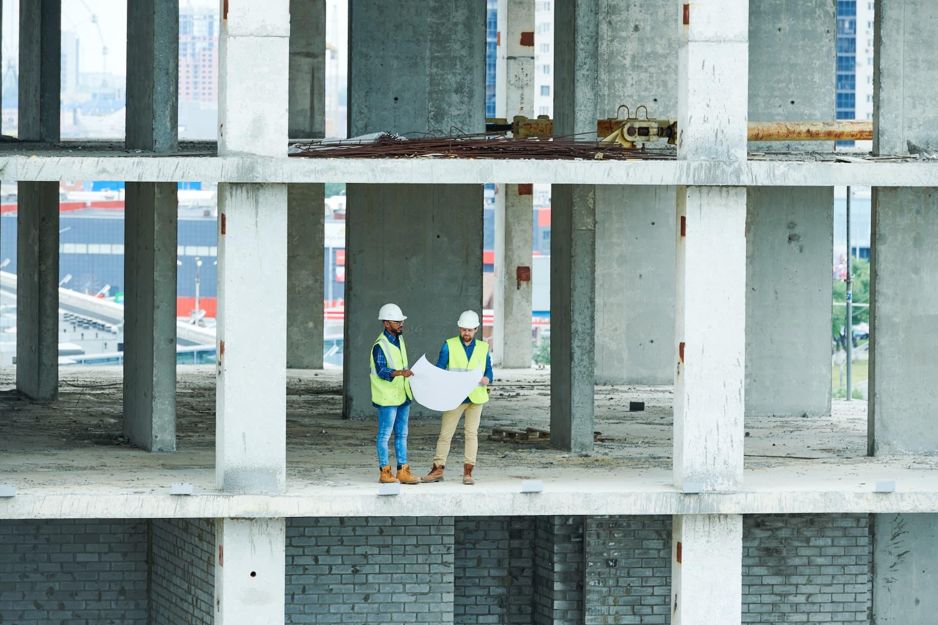 Ingegneri in struttura in cemento armato